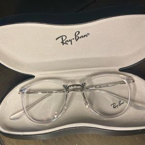 Ray-Ban RX7140 Transparent Glasses